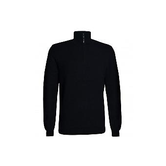 Ted Baker Men's Black Tunnel Jumper