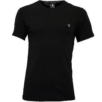 Calvin Klein 2-Pack CK1 Crew-Neck Stretch Cotton T-Shirts, Black