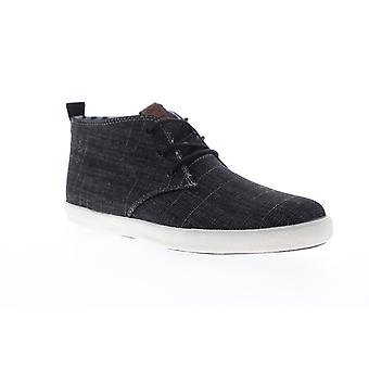 Ben Sherman Bristol Chukka  Mens Black Canvas Lifestyle Sneakers Shoes