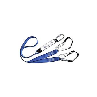 Portwest double lanyard webbing with shock absorber fp51