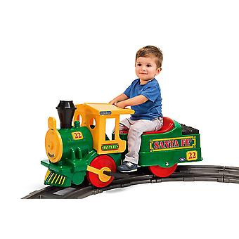 Peg Perego Santa Fe 6V Electric Ride On Train Set Green