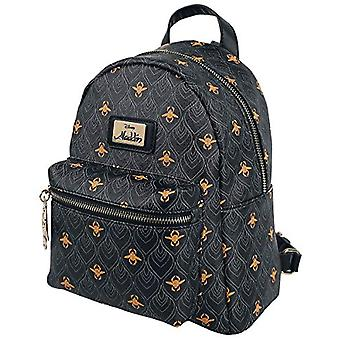 Bioworld Disney Aladdin All-Over Print Ladies Mini Backpack Backpack Casual 26 centimeters 20 Black (Black)