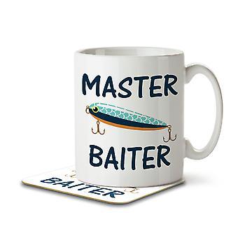 Master Baiter - Becher und Untersetzer