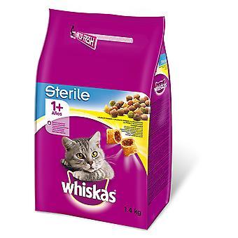 Whiskas Seco Adulto 1+ Esterilizado Pollo (Cats , Cat Food , Dry Food)