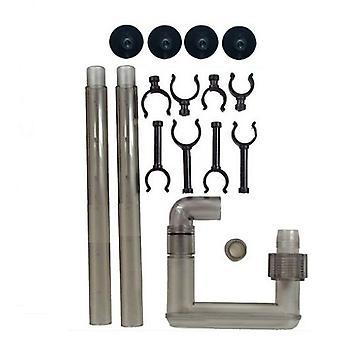 Tetra Kit Salida Ex400/600/700 (Peces , Accesorios acuarios , Tubos, ventosas y clips)