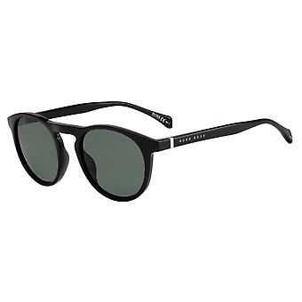 Hugo Boss 1083/S 807/QT Black/Green Sunglasses