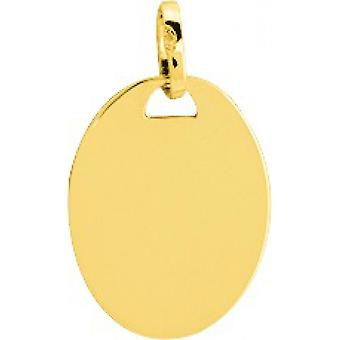 Gold plate 750/1000 (18K) yellow