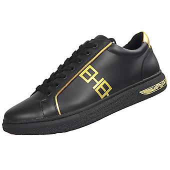 Ed Hardy Mono Low Top Black/gold Trainers