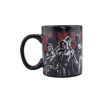 Taza de cambio de color sensible al calor de Star Wars Episodio 9 - Ideal para café y té