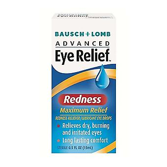 Bausch + lomb advanced eye relief redness maximum relief, 0.5 oz