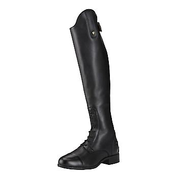 Ariat Heritage Contour Ii Womens Field Zip Riding Boot - Czarny