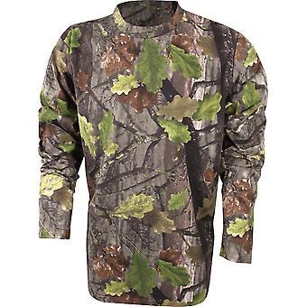 Jack Pyke Long Sleeve T-Shirt English Oak Evolution Medium