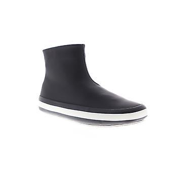 Camper Portol Womens svart läder High Top Euro Sneakers Skor