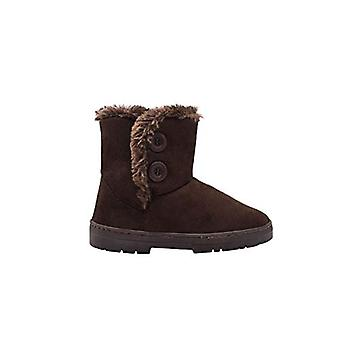 "Chatz Women's 6"" Short Mid High Microsuede Winter Boots met Faux Fur Trim"