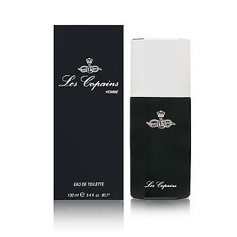 Les copains homme by les copains 3.4 oz eau de toilette spray (black bottle)