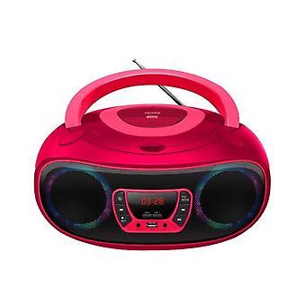 Radio-CD Bluetooth MP3 Denver Elektronik TCL-212MT 4W Rosa