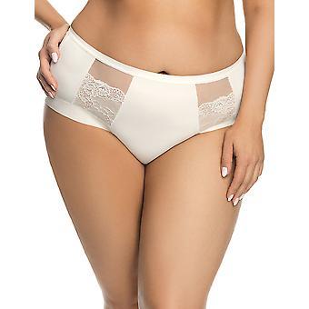 Gorsenia K442 Women's Luisse Cream Off White Brief