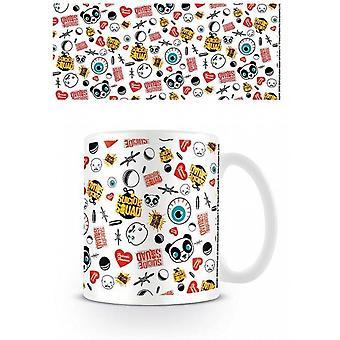 Suicide Squad (Pattern) Mug