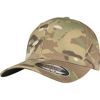 Flexfit av Yupoong Multi Kamouflage Cap