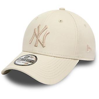 Новой эры 39Thirty Flexfit кепка - Нью-Йорк Янкиз камень бежевый