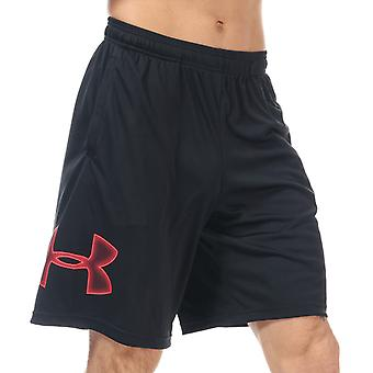 Under armour men's black tech graphic shorts