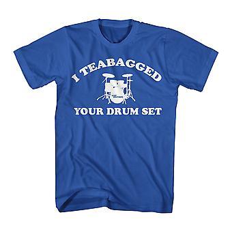 Step Brothers Cooper Teabag Men's Royal Blue T-shirt