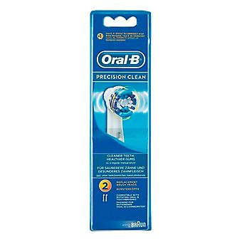 Replacement Head Precision Clean Oral-B (2 uds)