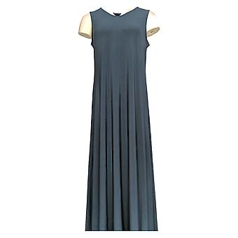 Attitudes by Renee Petite Dress LP Como Jersey Maxi Blue A347505