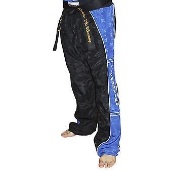 Topp tio kickboxning Uniform byxor svart/blå