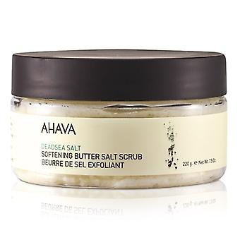 Ahava Deadsea Salt Softening Butter Salt Scrub 235ml/8oz