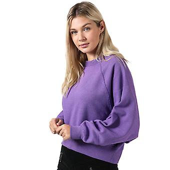 Women's Only Stella Batwing Crew Sweatshirt in Purple