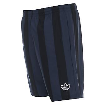 Men's adidas Originals Stripes Shorts en Negro