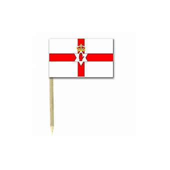 Union Jack Wear Northern Ireland Flag Party Picks  Pack Of 50