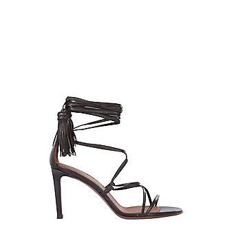 L'autre Koos Osl13585cp26152016 Dames's Brown Leather Sandals