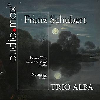 Schubert / Trio Alba - Trio D 929 100 / Notturno D 897 [SACD] USA import