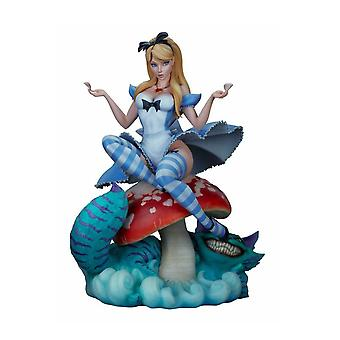 Alice in Wonderland Fairytale Fantasies Statue