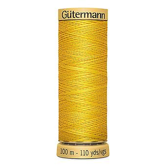Gutermann 100% Natural Cotton Thread 100m Código de Cor da Mão e da Máquina - 588