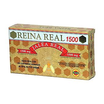 Royal Queen Jelly 1500 20 ampoules of 1500mg