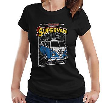 Volkswagen Supervan Camper Women's T-Shirt
