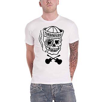 Turbonegro T Shirt Sailor Skull n Bones Band Logo new Official Mens