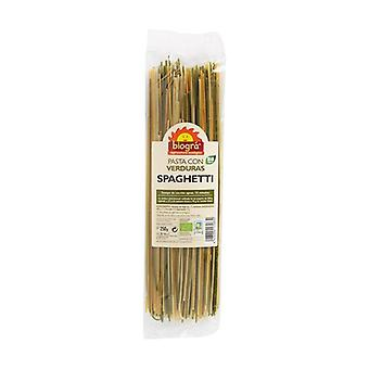 Spaghetti Vegetable Tricolor Bio 250 g