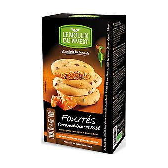 Cookies filled with caramel and salted butter with chocolate chips 175 g