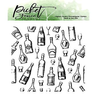 Picket Fence Studios Good Times Clear Stamps