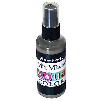 Stamperia Aquacolor Spray 60ml Graphite