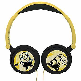 Lexibook Universal Despicable Me 3 Minions Stereo Headphone - Geel/Zwart