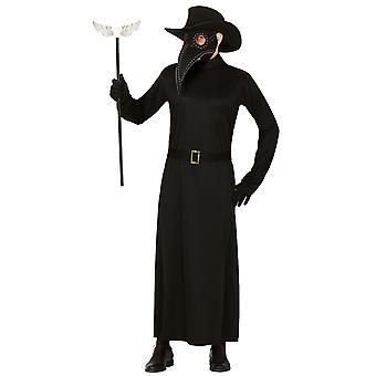 Mens Plague Doctor Fancy kjole kostyme