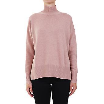Jil Sander Jspr754021wry10008260 Women's Pink Cashmere Sweater