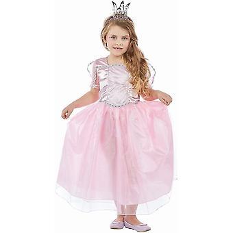 Princesse Elli rose enfants costume tulle reine princesse costume de balle