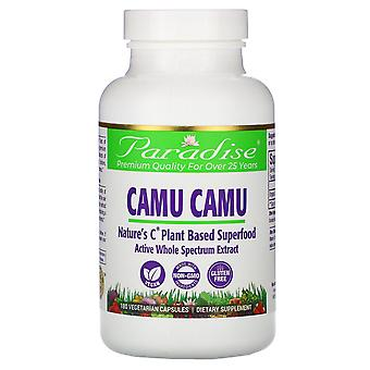 Paradise Herbs, Camu Camu, 180 capsules végétariennes