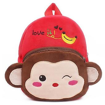 Cute Cartoon Kids , Plush Backpack Toy - Mini School Bag's